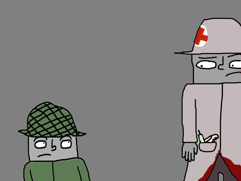 the medic re-arrival